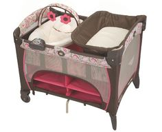 Graco Pack 'n Play Playard with Newborn Napper Station DLX, Jacqueline:Amazon:Baby