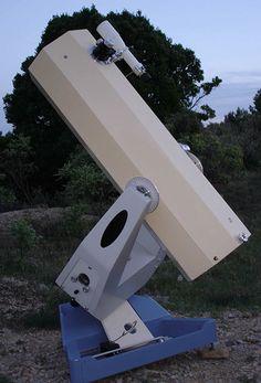 """Olivier Lemaire """"Saturne"""" 8"""" (200mm) f/5.2 equatorial fork-mount square-tube"""