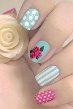 20 Easy Nail Art Design Ideas | Inspired Snaps