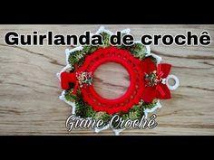 GUIRLANDA DE CROCHÊ | Giane Crochê YouTube
