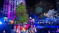The giant evergreen that will light up the Rockefeller Center plaza for this year's holiday season will start its journey to New York City Wednesday.