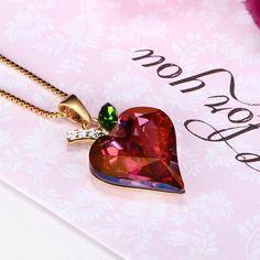Crystal Rhinestone Statement Necklace for Women Fashion Jewelry Wedding Jewelery ...