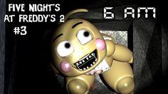 Five Nights at Freddy's 2 #3 - Nacht 2 geschafft