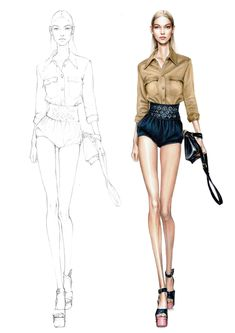 Image result for fashion sketches