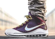 Nike Air Max Lebron 7 Christ The King - 2010 (by Wilsta)
