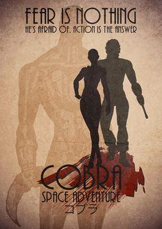 #SilenceCorp Fanart de Space Adventure Cobra