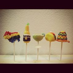 Mexican Cake Pops