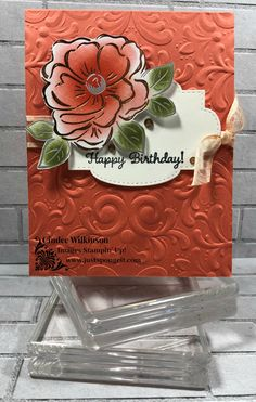 Timeless Tulips Stamp set, Flowering Foils Specialty dsp, Stitched So Sweetly Dies, Organdy Striped Ribbon, Sponge Daubers Foil Paper, Paper Cards, Horse Cards, Stamping Up Cards, Rubber Stamping, Embossed Cards, Mothers Day Cards, Embossing Folder, Flower Cards