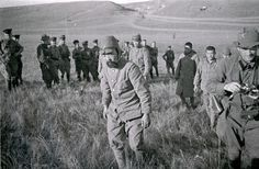 Captured Japanese soldiers during the Battle of Khalkhin Gol, Aug 1939