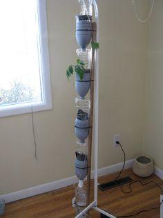 Melissa's WindowFarm: WindowFarm Setup: First Column
