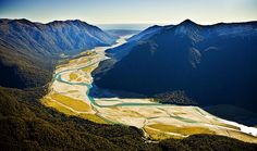 Haast River Valley, leading to Haast, see more, learn more, at New Zealand Journeys app for iPad www.gopix.co.nz