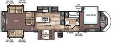 Salem Hemisphere Fifth Wheels  / Travel Trailers  by Forest River RV