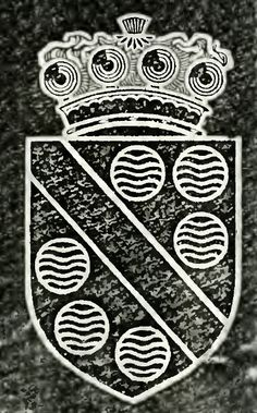 Stourton arms from the cover of the History of the Noble House of Storton.
