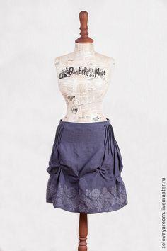 Linen skirt / Oksana Solovaya