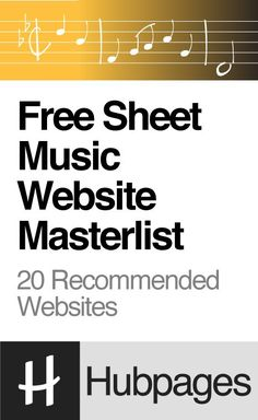 Free Sheet Music Website Masterlist (Piano, Guitar, Violin, Flute, Clarinet, Saxophone, Trumpet, Trombone, and More)
