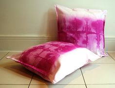 Radiant orchid purple pink dip dyed watercolour by NobleAndIron