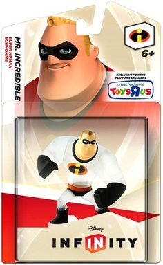 Disney Infinity, Exclusive Crystal Mr. Incredible Figure