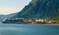 Princess cruise ship docked in #Juneau #Alaska