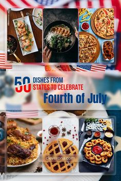 Food is an important part of any celebration regardless of culture or religion. It can unite and strengthen community bonds and helps to maintain a common identity among a group of people. Different states use food in different ways to help celebrate special occasions like Christmas, New Year, weddings, and birthdays. In celebration of this year's Independence Day, we've gathered 50 recipes of 50 unique dishes from all 50 states for you to choose from for this coming Fourth of July weekend. Tasty, Yummy Food, Best Blogs, 50 States, Independence Day, Fourth Of July, Cooking Tips, Special Occasion, Birthdays