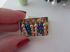 Miniature Christmas Ornaments  -  Nostalgie 1zu12