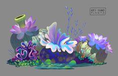 The Art of Animation Prop Design, Game Design, Design Color, Design Art, Environment Concept, Environment Design, Festival Off, Alien Plants, Color Script