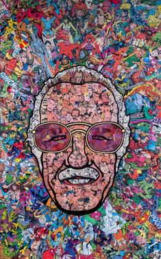 Stan Lee Canvas Paintings Father Of Marvel Framed HD Canvas Prints Pop Art Poster Wall Art Decoration Super Hero Collection Batman Spiderman Iron Man Comics Wall Decor for Home Office Films Marvel, Marvel Memes, Marvel Characters, Collage Poster, Kunst Poster, Poster Wall, Poster Poster, Poster Prints, Poster Marvel