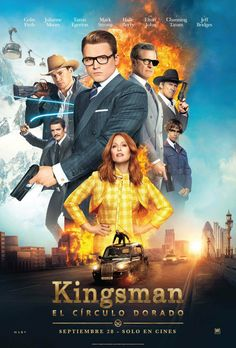 Kingsman 2 The Golden Circle - new posters -> https://teaser-trailer.com/movie/kingsman-2/  #kingsman2 #kingsmanthegoldencircle