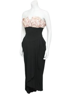 Howard Grier gown from the 1950s