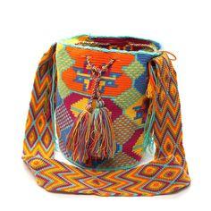 Dots Wayuu Mochila