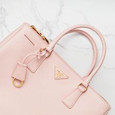 PRADA Lux Tote Pink Orchidea #prada #bag #luxtote #pink