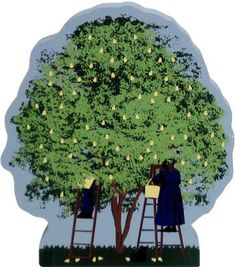 In the small town of Apple Creek, Ohio, Faline's parent's house has two beautiful pear trees in the front yard. Every year several Amish vis...