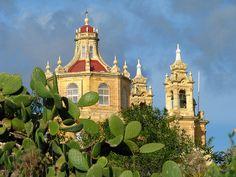 a chapel in the gozitan countryside, Malta