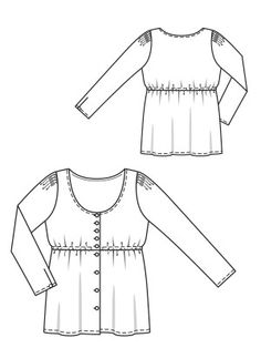 Dirndl Blouse   www.sewingavenue.com