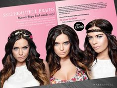 Double Page Spread for Beauty Works Booklet Design