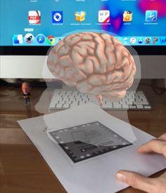 Cerebro con RA