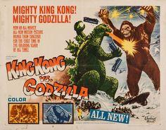 Godzilla vs. King Kong the US release of 1962 Japanese film Kingu Kongu Tai Gojira and was reshot in 3 days by Thomas Montgomery