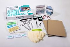 20 piece suture kit: includes an internationally accredited clinical suturing mastery course, a variety of sutures, imitation skin, and instruments Cna School, Nursing School Tips, Medical School, Medical College, Accredited Nursing Schools, Online Nursing Schools, Suture Kit, Masters Degree In Nursing, Nursing School Prerequisites