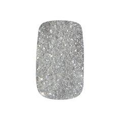 I believe this is the first nail wraps I've sold!  http://www.zazzle.com/stylish_silver_glitter_glitz_minx_nail_wraps-256251622787724744?view=113726642434075667&rf=238565296412952401&tc=MPSales
