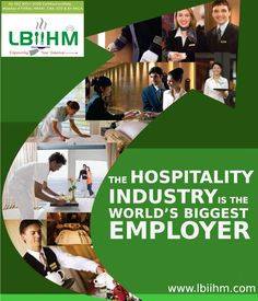 #Hospitality The Hospitality Industry is the world's biggest employer!!! http://www.lbiihm.com/