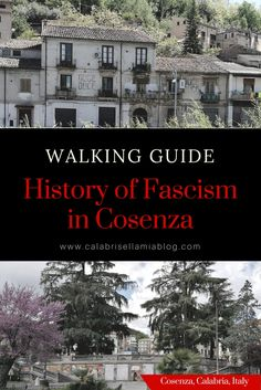 Liberation Day, April 25th, commemorates the fall of fascism in Italy. I've put together a Walking Guide exploring the History of Fascism in Cosenza.