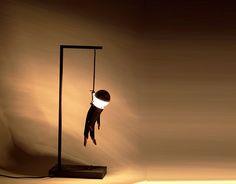 Hangman lamp $239