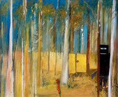 Ned Kelly in the Bush by Sidney Nolan. Australian Painters, Australian Artists, Sidney Nolan, Ned Kelly, Indigenous Art, Aboriginal Art, Urban Art, Art Images, Bing Images