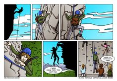 rock climbing jokes | Todd's a pro, for sure!