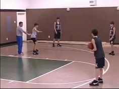 Man-to-Man Defense in Youth Basketball : Youth Basketball Man Defense: T...