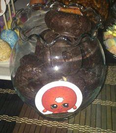 Shopkins Chocolate Donuts