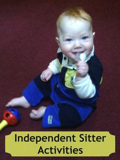 Baby School- Independent Sitter Activities