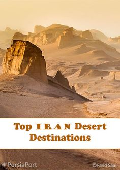 Here is a short list of Iran's top desert tourism destinations. If you've been to any of these destinations – or better yet, have been to other deserts – share your experience with us.  #RediscoverIran #PersiaPort #Iran #Travel #Desert #TravelTip