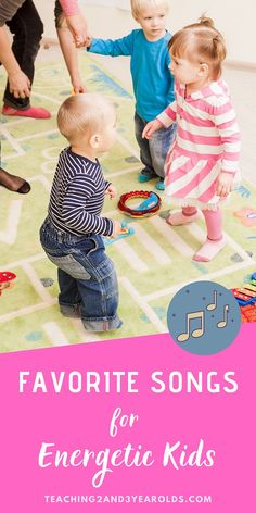 Looking for preschool music that helps energetic kids? This collection is perfect for getting those wiggles out, especially when stuck indoors! #music #kidsmusic #songs #energetickids #indooractivities #kidsindoors #preschoolsongs #preschoolmusic #AGE3 #AGE4 #teaching2and3yearolds Circle Time Songs, Circle Time Activities, Activities For 2 Year Olds, Movement Activities, Indoor Activities, Preschool Music, Preschool Classroom, Toddler Preschool, Preschool Activities