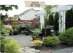 awesome backyard makeover- and like the makeovers on the site, too