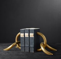 Cast Linked Bookends